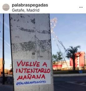 Palabras Pegadas a Madrid