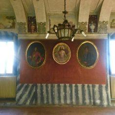 Salone del Camino a Palazzo Bazzini