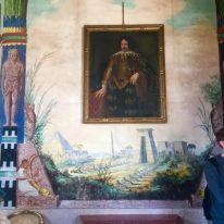 Sala degli Egizi a Palazzo Bazzini