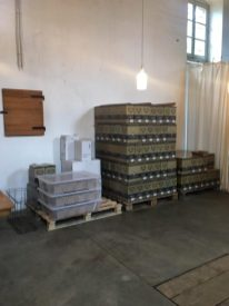I cartoni del vino in vendita