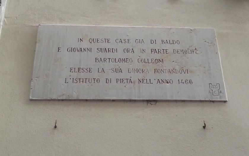 Luogo_Pio_colleoni_targa