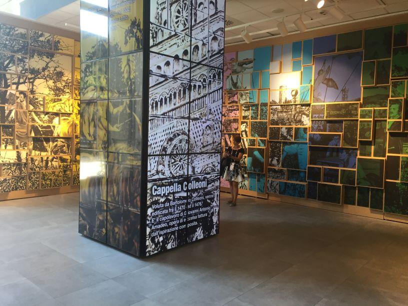 Mosaico di Mastrovito a Expo 2015