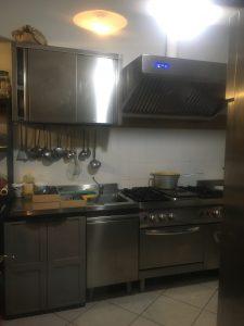 La cucina dell'Antica Locanda Roncaglia