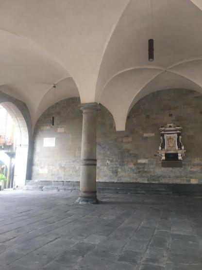 Loggia Palazzo della Ragione e Gradinata del Malefizio
