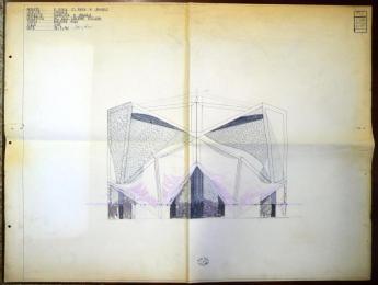 Prospetto Chiesa di Longuelo Fondo Giuseppe Pizzigoni