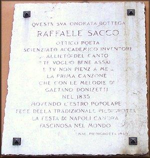 Targa con Sacco e Donizetti