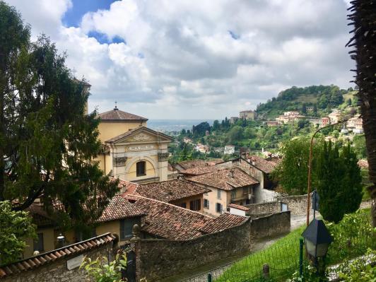 Via Borgo Canale dall'alto