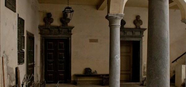 Corte dove si recava a studiare Donizetti