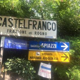 Castelfranco - partenza per la Big Bench