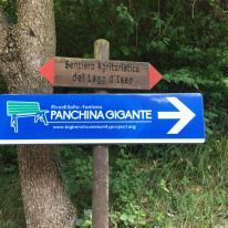 Indicazioni per la Panchina Gigante di Fonteno