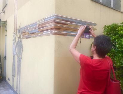 Fotografare l'intarsio di Polvere di Stelle