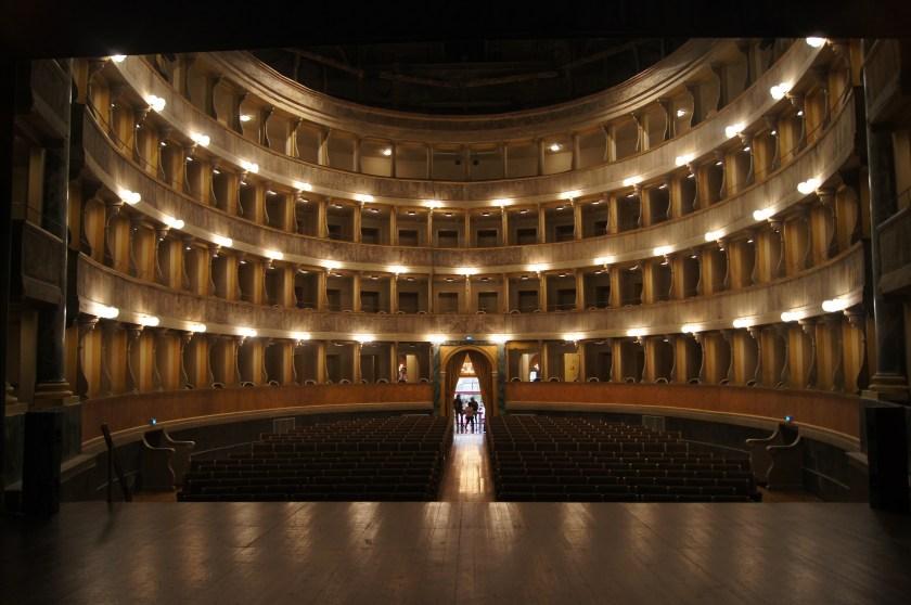 Il Teatro Sociale visto dal palco