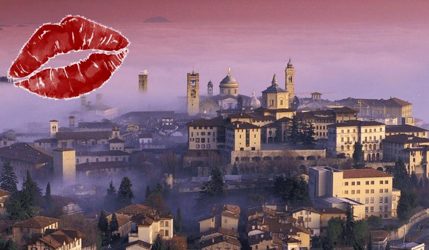 Bergamo città al Bacio