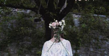 Giardino di palazzo Moroni in un frame del video di Cane Secco