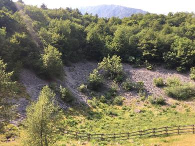La valle del Freddo e il calcare di Zorzino