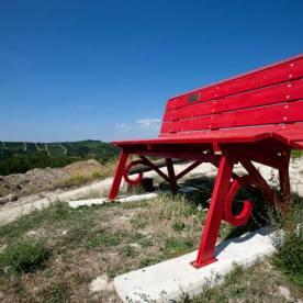 Panchina gigante Rossa #1