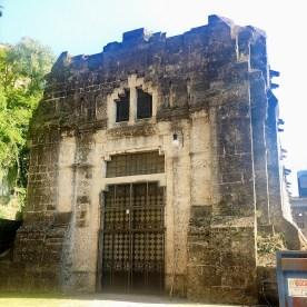 Centrale Taccani di Trezzo portale posteriore