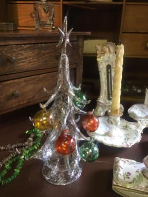 Egodì alberello di Natale in vetro di Murano