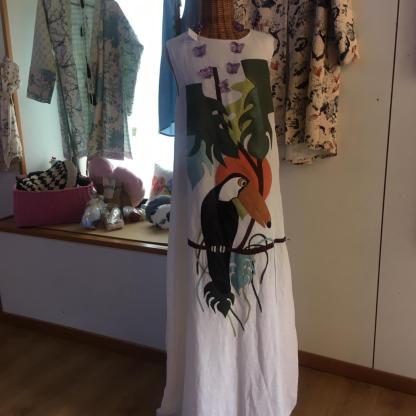 Moki vestito pappagallo