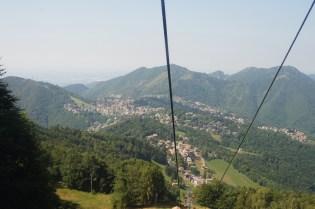panorama dal Monte Poieto