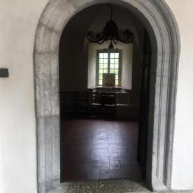 portale in pietra Ristorante Posta di Gromo