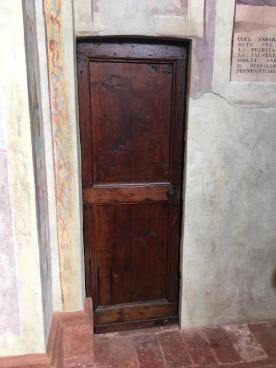porta della sacrestia