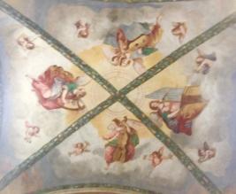 quattro evangelisti sopra altare