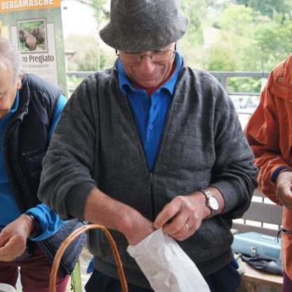 Giuseppe Rondi tartuficoltore bergamasco
