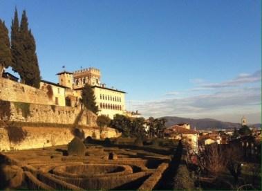 Giardino all'italiana Castello Camozzi Vertova