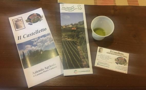 Degustazione di Olio al Castelletto