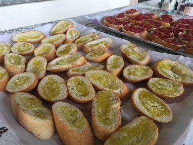 Pane e olio EVO Il Castelletto