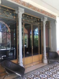Ingresso dello studio di Villa Astori