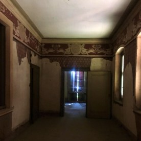 Stanza da letto del primo piano di Villa Astori