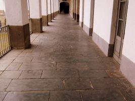 Corridoio per pattinaggio o partite a biglie