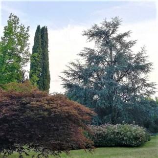 Il parco all'inglese di Villa Astori