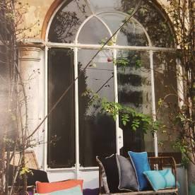 Una finestra di Villa Astori