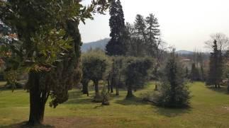 Il parco di Villa Astori a Torre de' Roveri