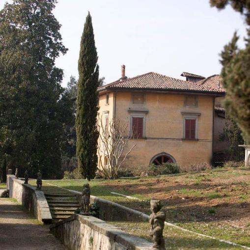 Villa Astori vista dal parco