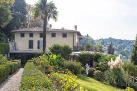 Villa Frizzoni vista dal Parco