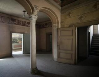 Anticamera del primo piano a Villa Astori
