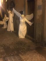 angeli del Silence Teatro in posa