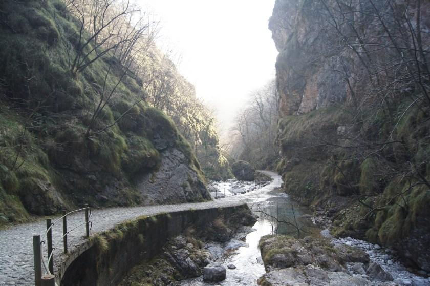 Sentiero in Val Vertova