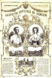Gazzetta ufficiale Venezia 1856
