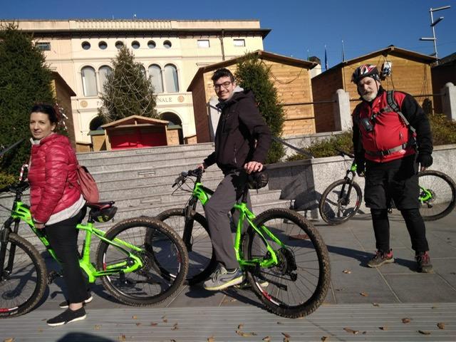 Il gruppo durante il Blog Tour Quadrifoglio
