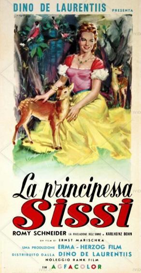 loncandina La principessa Sissi film