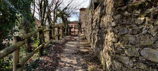 Parco del Gigante di Luzzana 3 sentiero