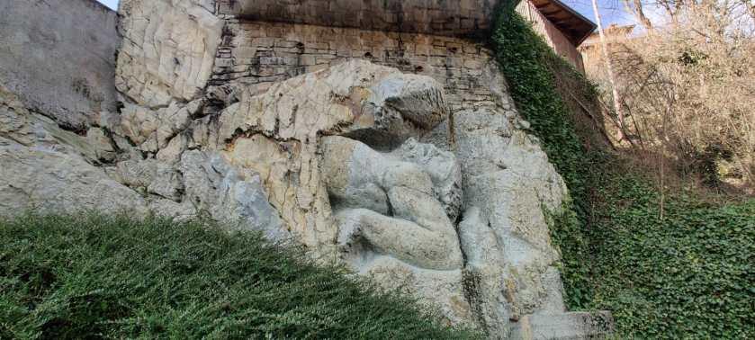 Il Gigante di Giosuè Meli a Luzzana