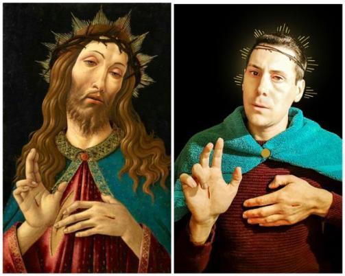 Tusoperator Cristo Redentore di Botticelli