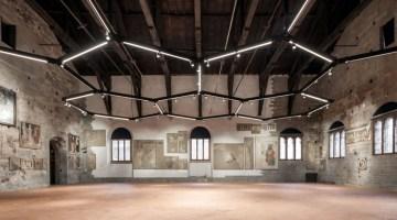 Sala delle Capriate Museo dell'Affresco Bergamo