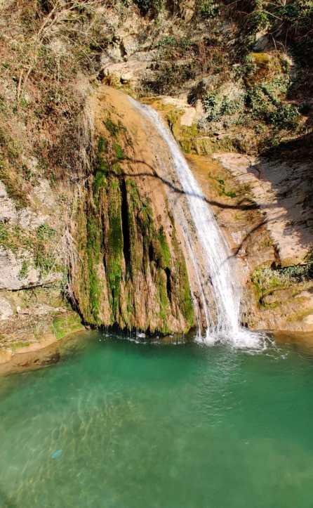 Cascata Parco del Gigante di Luzzana